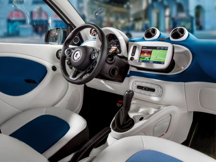 smart fortwo цвет